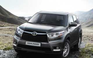Toyota Highlander III 2014