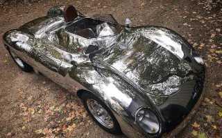 Крис Рунге и его самодельные автомобили из полированного алюминия