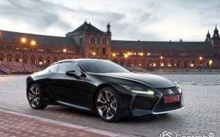 Lexus представил свой новый гибрид LC500h