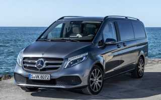 Обзор Mercedes V