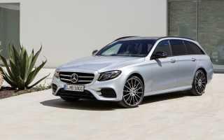 Mercedes представил новый универсал Е