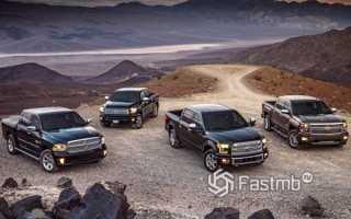 Самые популярные автомобили в США