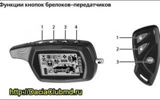Сигнализация Sheriff APS95LCD-B4 с автозапуском (инструкция по применению)