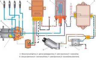 Установка бесконтактной системы зажигания