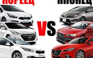 Чем японские автомобили лучше корейских?