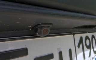 Самостоятельная установка камеры заднего вида на Шевроле Нива