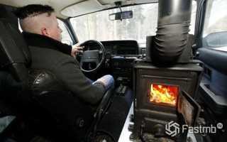Как прогревать автомобиль морозным утром