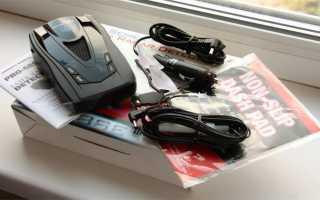 Антирадар Whistler Pro 68SE с поддержкой функции «Антисон»