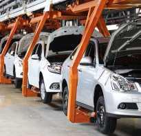 Производство автомобилей в России