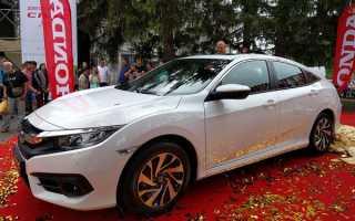 Honda Civic десятого поколения уже в Украине
