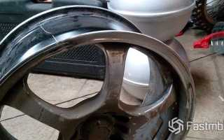 Как отремонтировать литые диски автомобиля