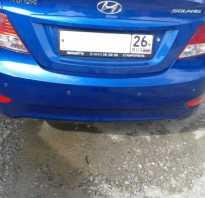 Установка датчиков парктроника на Hyundai Solaris своими руками
