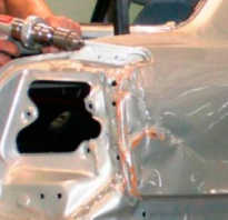 Ремонт алюминиевого кузова