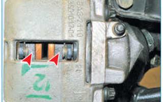 Проверка тормозной системы Лада Приора