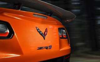 Самый мощный Chevrolet Corvette ZR1
