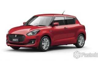 Новый Swift от компании Suzuki