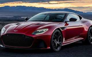 Новый Aston Martin DBS Superleggera