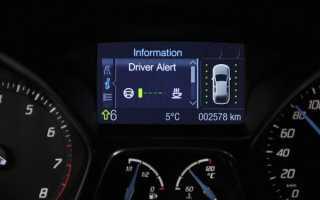 Мониторинг состояния водителя за рулем
