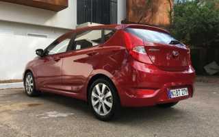 Обзор Hyundai Accent 2018