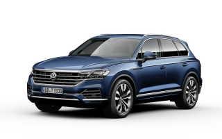 Стартовали продажи эксклюзивного Volkswagen Touareg