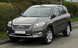 Замена топливного фильтра Toyota Rav 4